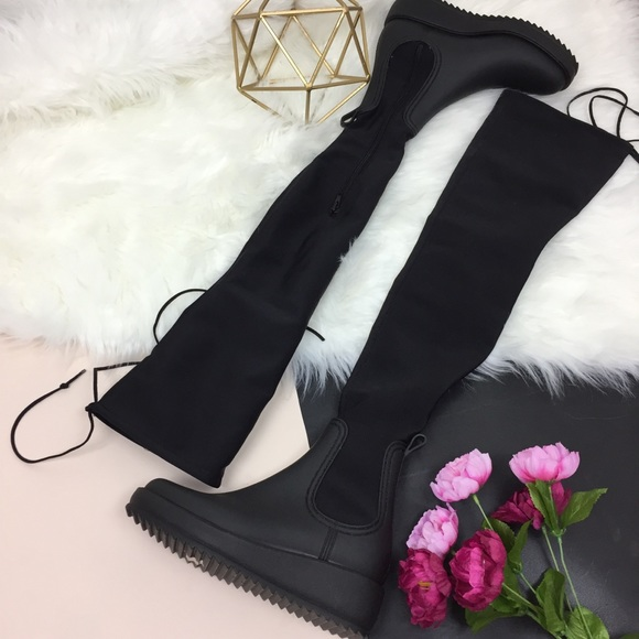 2e5547226a07 Jeffrey Campbell Shoes - • Jeffrey Campbell Monsoon over-the-knee rain boot